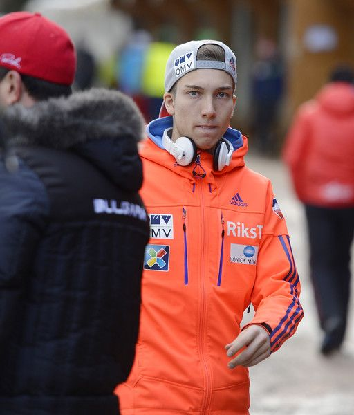 Johann Andre Forfang Photos Photos - Johann Andre Forfang of Norway reacts prior to the FIS Ski Jumping Worldcup on March 13, 2016 in Titisee-Neustadt, Germany. - FIS Ski Jumping Worldcup Titisee-Neustadt - Day 2