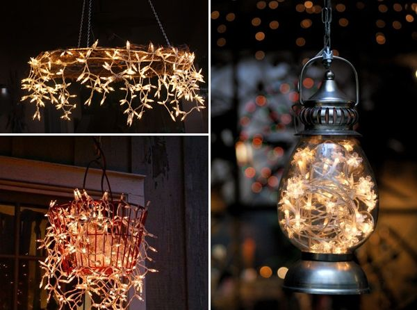 DIY Outdoor Lighting Ideas by Interiorholic.