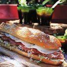 Try the Italian Hero Sandwich Recipe on williams-sonoma.com/