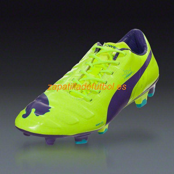 841c5056 ... czech comprar zapatos de soccer puma evopower 1 fg para hombre fluro  amarillo prisma violeta azul