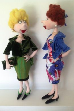 Cloth Doll Patterns by Jill Maas - not quite Tilda but fabulous anyway