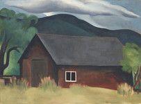 My Shanty, Lake George by Georgia O'Keeffe