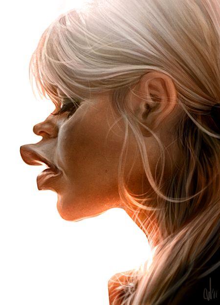 Caricatures on Behance