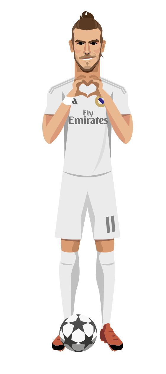 Gareth Bale on Behance. Real Madrid.