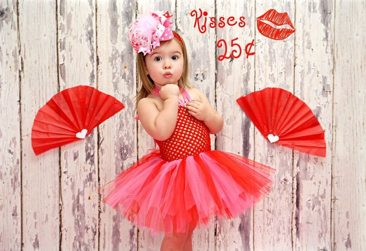 Valentines Baby Tutu DressRed Pink Toddler TutuTutu DressTutu DressesInfant For Babies Red PinkValentines Day Photo Shoot