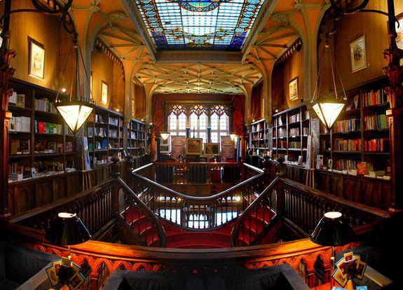 Lello Bookstore, Porto, Portugal