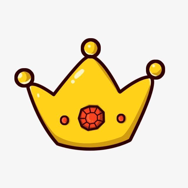 Floating Cartoon Crown Crown Drawing Cartoon Clip Art Crown Png Cute pink crown with gems cartoon icon fun vector. pinterest