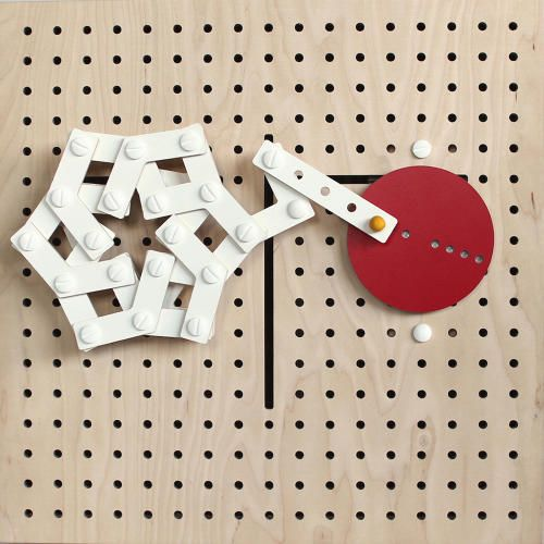 """<p>Looking for a way to teach the complex concepts of kinetic design, Park created <a href=""""http://eunyoungpark.co/linkki-parts/"""" target=""""_blank"""">LINKKI</a>, a simple, beautiful modular toy that kids can use to design movement.</p>"""