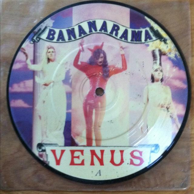 "Bananarama 7"" picture disc"