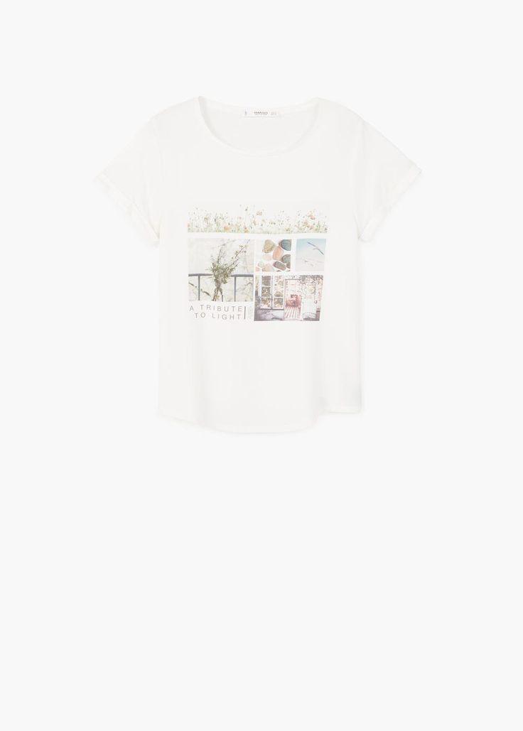 Μπλουζάκι με τυπωμένη εικόνα | MANGO ΜΑΝΓΚΟ