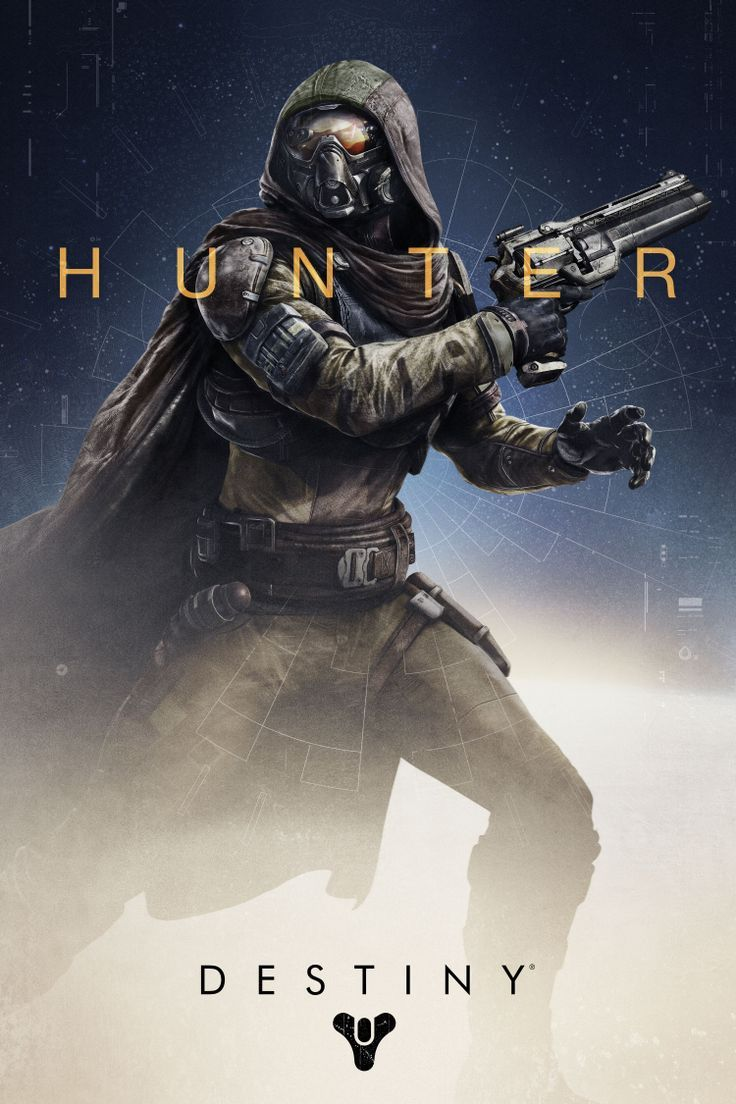 Destiny Hunter Bungie * Games and toys Pinterest