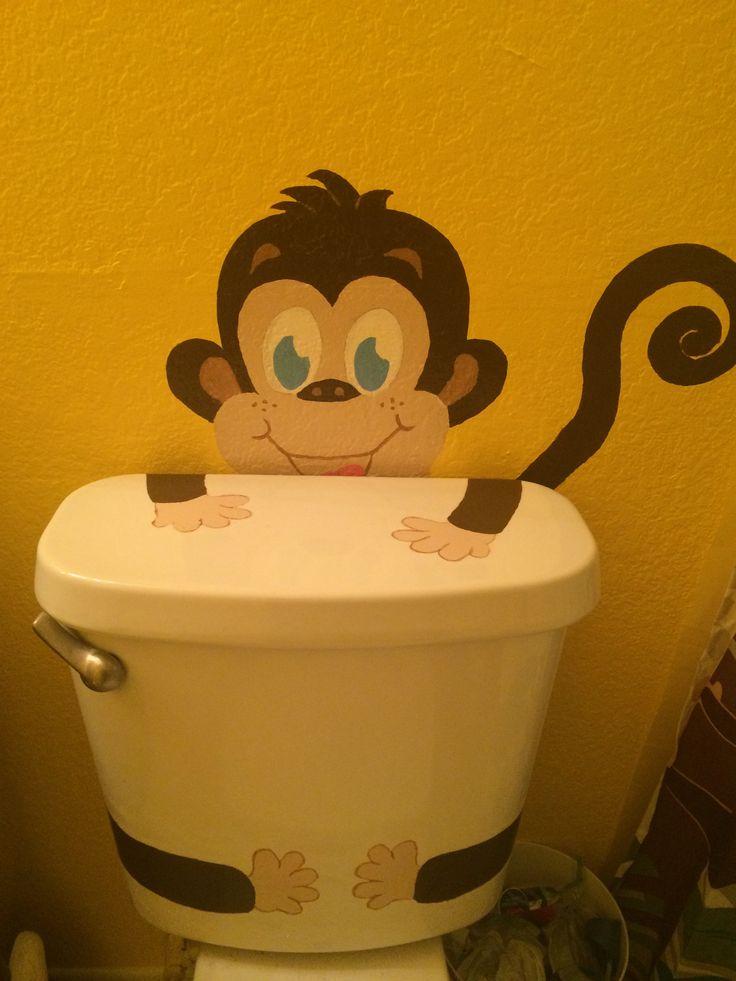 25 Best The Girls Monkey Bathroom Images On Pinterest