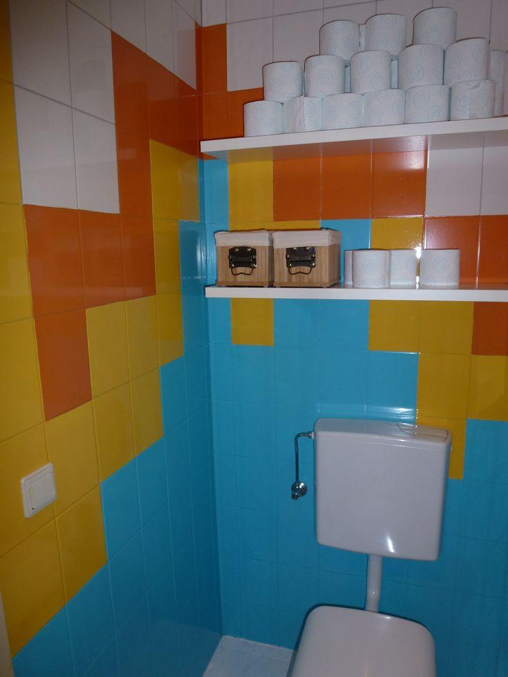 20170418&004011_Cement Verf Badkamer ~   muren kiezen Vloer tegels cement ceramica sort badkamer en toilet