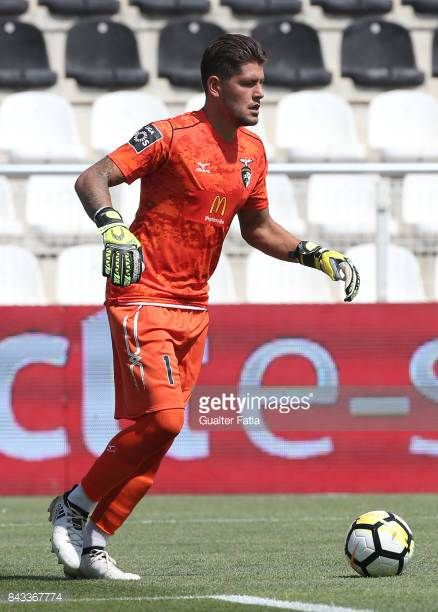 Portimonense SC goalkeeper Carlos Henriques from Portugal in action during the Portuguese League Cup match between Portimonense SC and GD Chaves at...