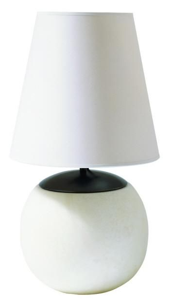 One Light Alabaster Natural Stone Natural Paper Shade Table Lamp : SKU