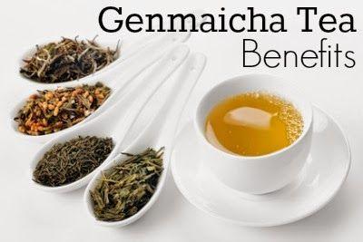 Genmaicha Tea Benefits ~ Healthy Tea 101