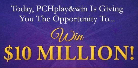 PCH $10 Million SuperPrize Giveaway No  13000   Bea Sherrard