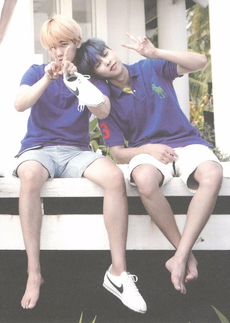 Baekhyun e Xiumin EXO ❤️
