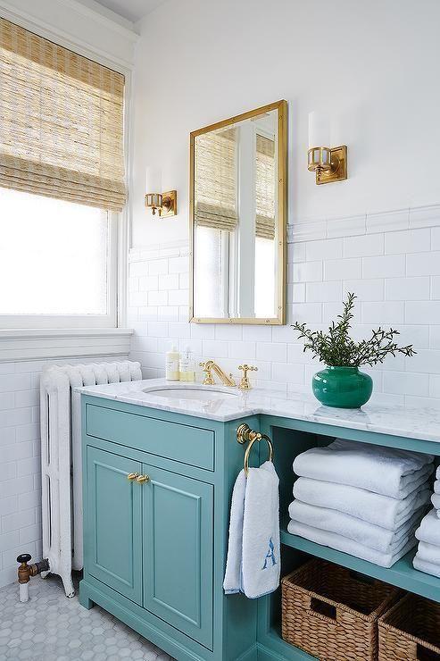 Mirror Sconces Subway Tile And Ledge Classic White
