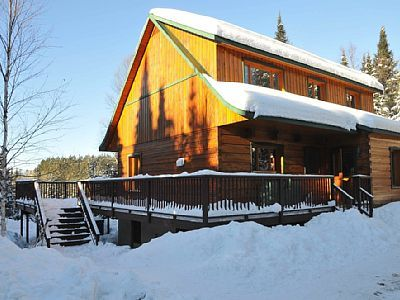 Luxury Cottage, Private Spa And Sauna,... - HomeAway Lac-Supérieur