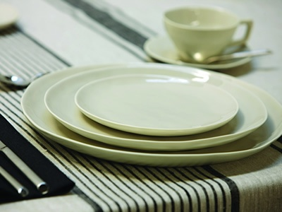 Carmen Dinner Range Organic shapes and hand finishing are combined to create truly distinctive dinnerware.   Carmen plates are made from environmentally friendly stoneware, double glazed and fired at 1230 degress for an enduring finish.   Now available at Papaya Online http://www.papaya.com.au/product-details.aspx?ProductCode=PLA117WEB