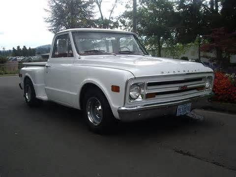 1968 chevrolet c10 v8 stepside pick up truck for sale. Black Bedroom Furniture Sets. Home Design Ideas