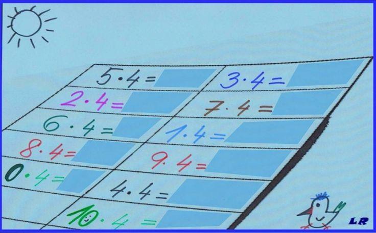 Násobky čísla 4. Priraď násobky k príkladu. Máš na to 11 minút. http://www.purposegames.com/game/nasobky-cisla-4-quiz
