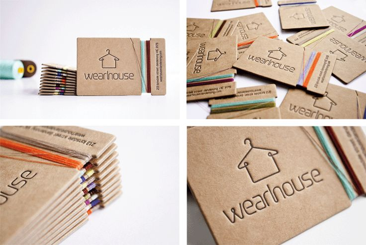 business cards  Wearhouse - Justine OBrien