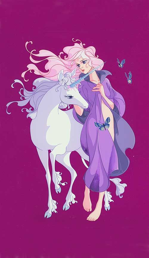 Art prints from The Last Unicorn - great book/great movie