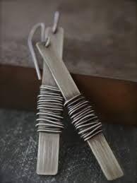 modern earrings wire wrap - Google zoeken