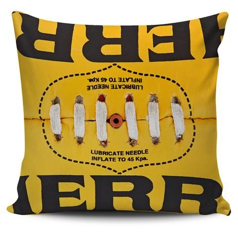 Aussie Rules Football Cushion Cover