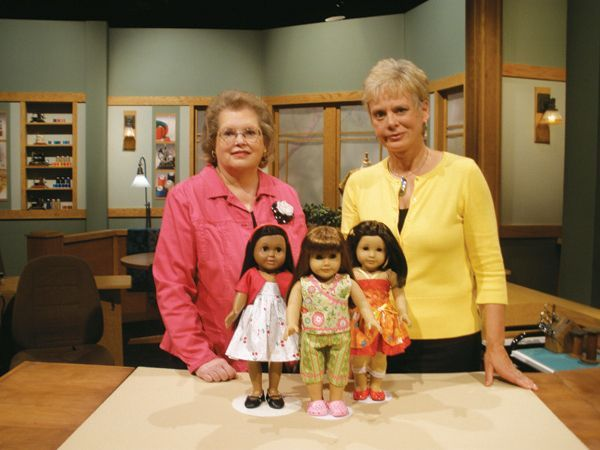 30 Minute Dolls Clothes. Video online for limited time - two parts. Great tips!
