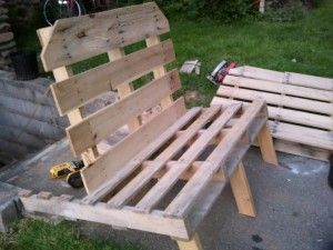 Pallet Chairs Plans