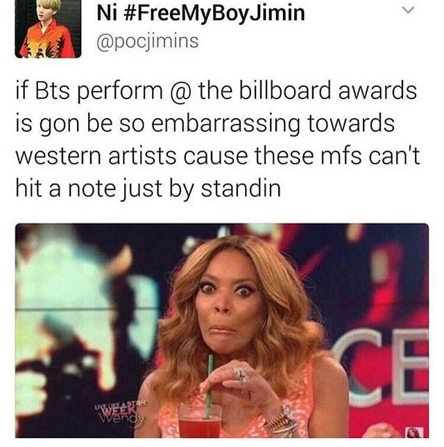true. even if any kpop group/artist perfomed western artists will be embarrassed