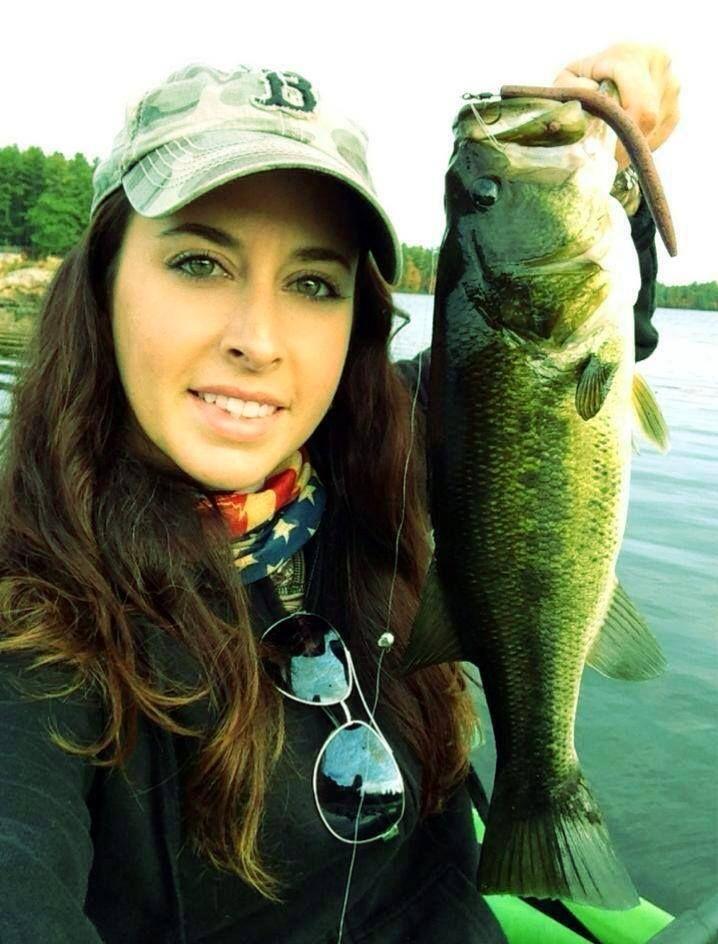 Sport fishing girls