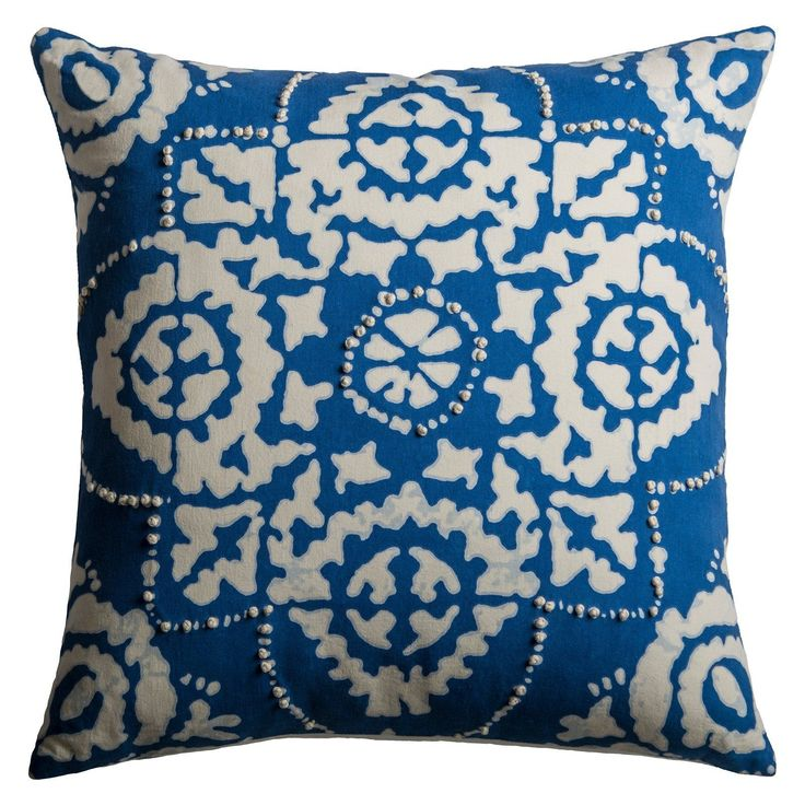 Rizzy Home Symmetrical Damask Decorative Pillow - PILT09699NLCR1818