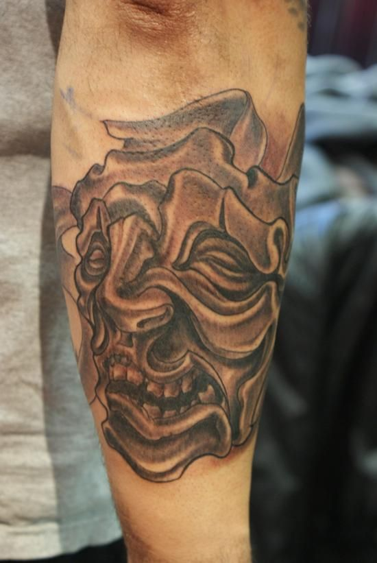Drama Mask Tattoos Drama Mask