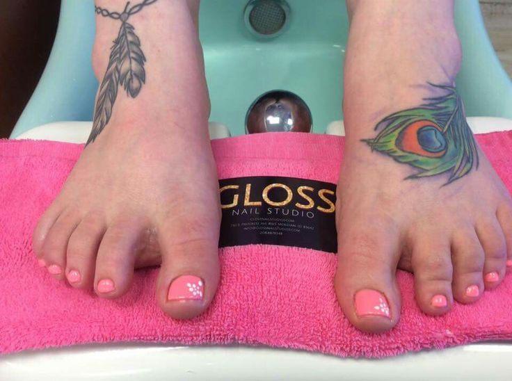 Pretty in Pink Nails  by Angie Heinemann  Gloss Nails:  Schedule an appointment today  (208)887-8548