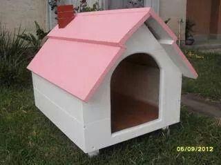 Sencilla casa para perro casitas de perros y camitas pinterest - Casas para perros pequenos ...