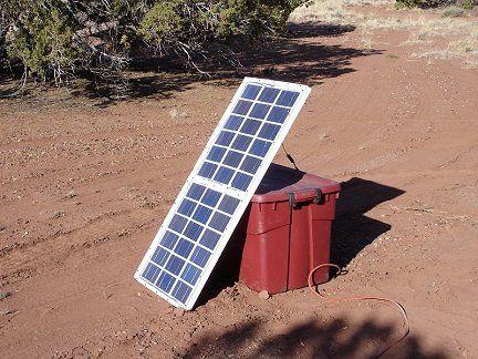 Make a solar panel!