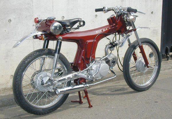 Honda Benly 50 1967 - WTF