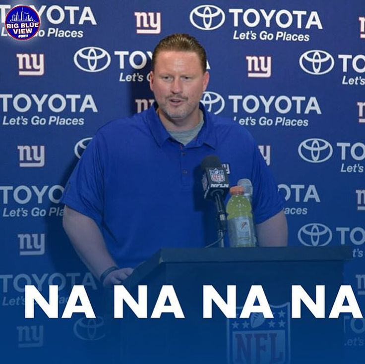 1.  Description: \_(ツ)_/  #nflfootball #espn #fantasyfootball #football #benmcadoo #firemcadoo #giants #giantspride #nfl : @bigblueview_ 2.  Description: NFL News: According to reports the New York Giants could fire HC Ben McAdoo on Monday. The ailing Giants hit rock bottom after failing to defeat a winless San Fransisco 49ers team. Obviously the 49ers now have their first victory but this Giants loss may trigger the teams front-office to make a coaching change sooner than they initially…