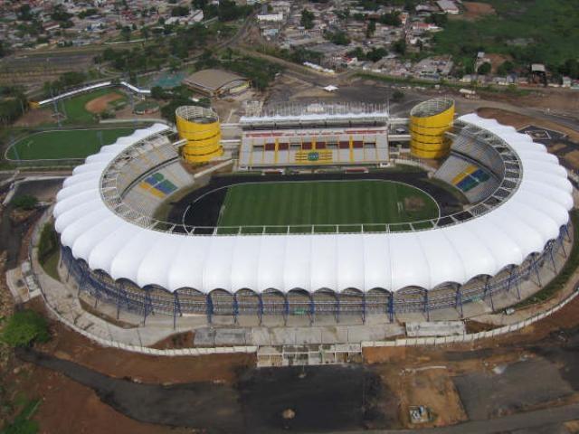 Estadio Cachamay. Venezuela.