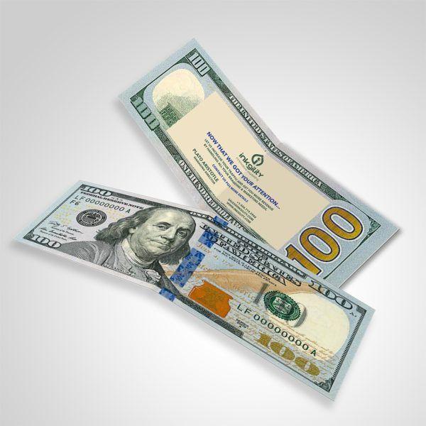 100 Dollar Drop Bill