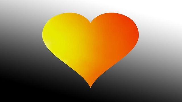 Free Image On Pixabay Heart Colors Love Red Yellow Free Images Image Free Pictures