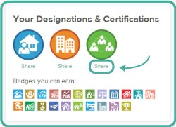 Sharing Certifications and Designations