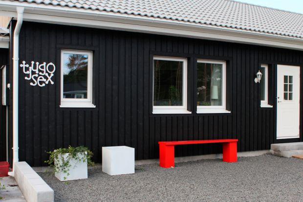 Älvsbyhus modell Ägir Svart fasad