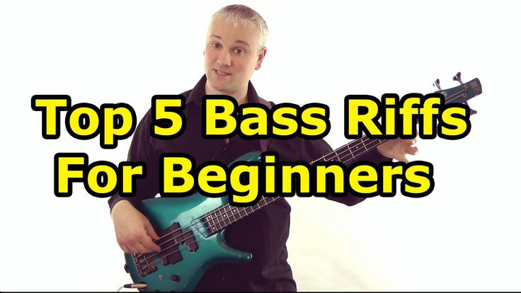 Top 5 Must Know Bass Riffs For Beginners (L#90)