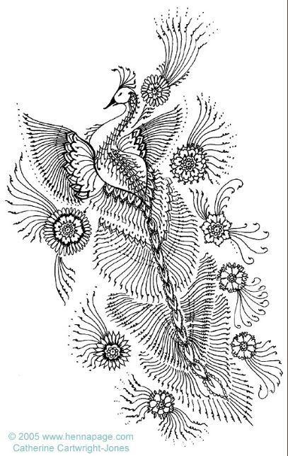 Henna design. @Emily Schoenfeld Wilson