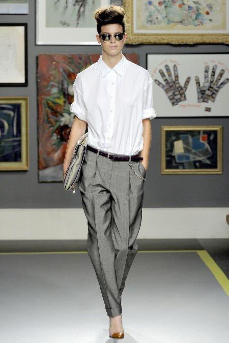 Мужской стиль в женском гардеробе: подчеркиваем женственность и сексуальность